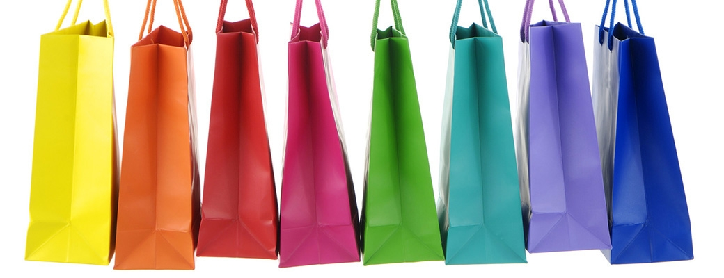 Χρωματιστές τσάντες