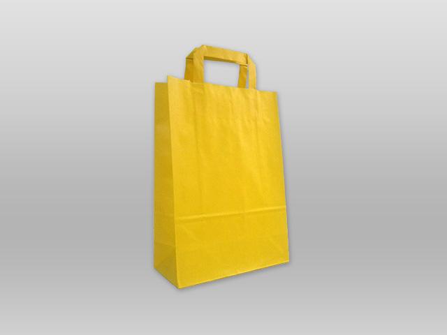 Χάρτινες με πλακέ χεράκι κίτρινη Image
