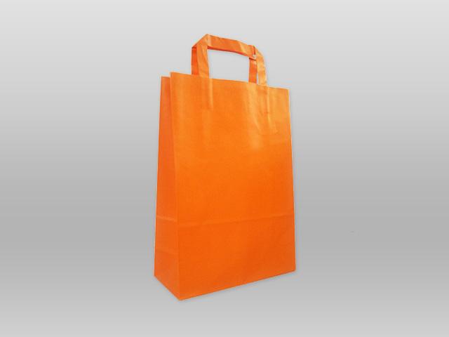 Χάρτινες με πλακέ χεράκι πορτοκαλί Image