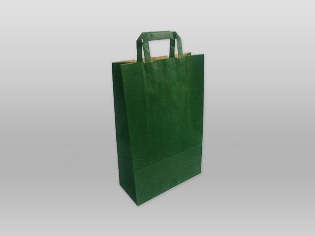 Χάρτινες με πλακέ χεράκι πράσινο Image