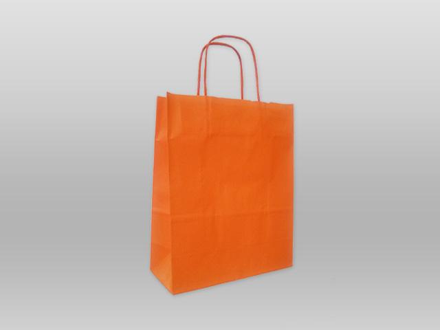 Χάρτινες με στριφτό χεράκι πορτοκαλί Image