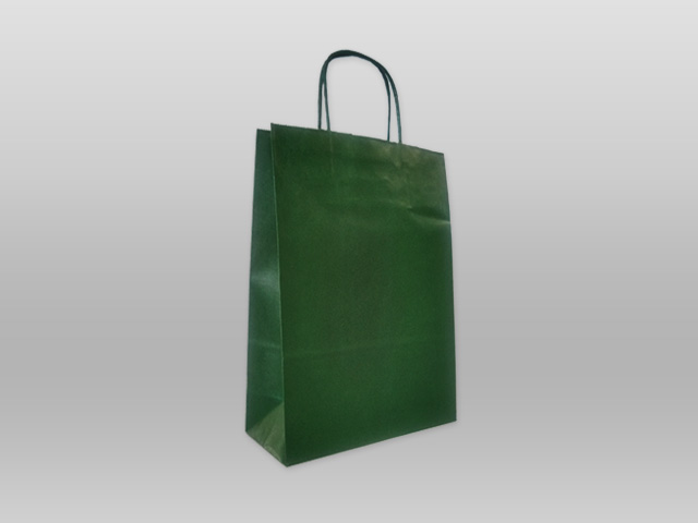 Χάρτινες με στριφτό χεράκι πράσινο Image