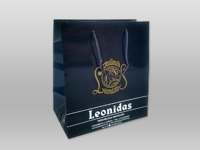 Τσάντα Leonidas μπλε Image