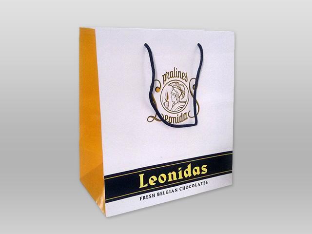 Τσάντα Leonidas λευκή Image