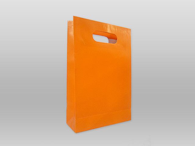 Χάρτινες με χούφτα πορτοκαλί Image